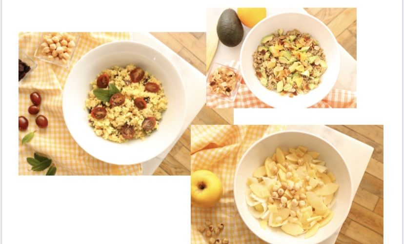 3 idées de recettes faciles de salades composées