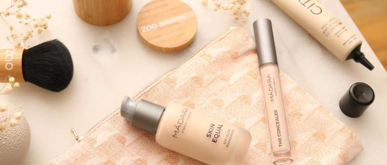 Maquillage bio : Mes Produits Teint Favoris